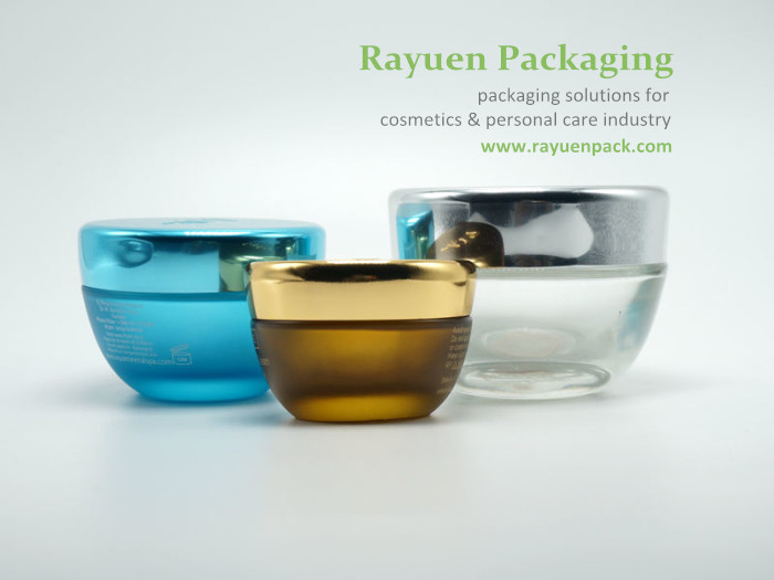 glass cosmetic containers for skin care packaging