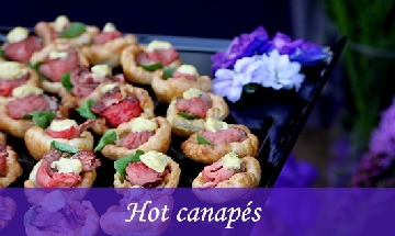 hot canapes