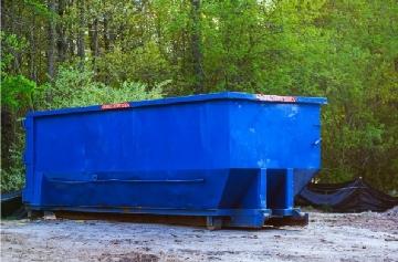 large flint mi dumpster