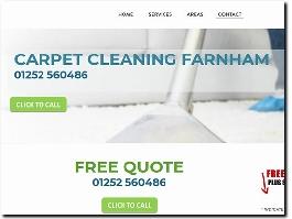 https://www.carpetcleaninginfarnham.co.uk/ website