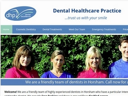https://www.dentistshorsham.co.uk/ website