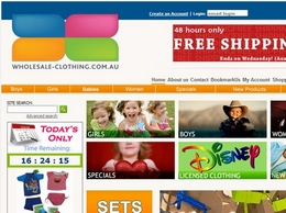 http://www.wholesale-clothing.com.au website