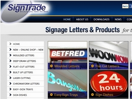 https://www.signtrade.co.uk website