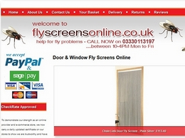 https://www.flyscreensonline.co.uk/ website