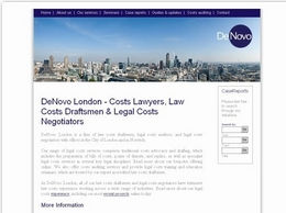 https://www.denovolegalservices.co.uk/ website