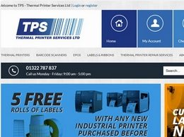 https://thermalprinterservices.co.uk website