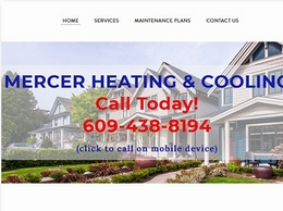 https://www.mercerheatingandcooling.com/ website