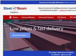 https://www.steelbeamsuppliers.co.uk/ website