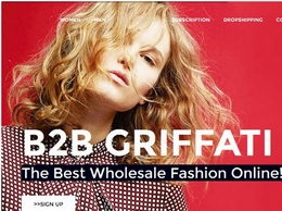 http://b2b.griffati.it/en/ website