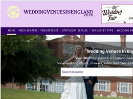 https://www.weddingvenuesinengland.co.uk/ website