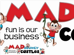 https://www.madbouncycastles.co.uk/ website