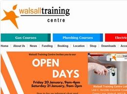 https://www.walsalltraining.com/ website