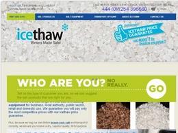 https://www.icethaw.co.uk website