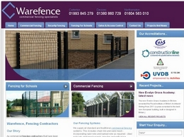 https://www.warefence.co.uk/ website
