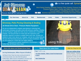 https://www.jetstreamdriveclean.co.uk/ website