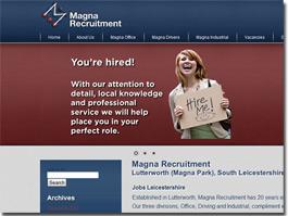 http://www.magna-recruitment.co.uk/ website