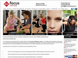 https://focus-training.com/ website