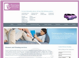http://www.thomascleaning.co.uk/ website