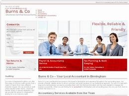 http://www.burnsandco-accountants.co.uk/ website