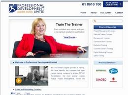 https://www.professionaldevelopment.ie/project-management-courses website