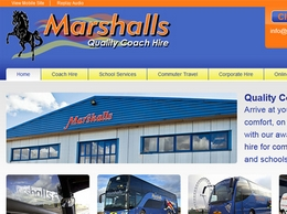 https://marshalls-coaches.co.uk/ website