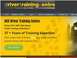 http://drivertrainingcentre.co.uk/ website