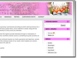 https://saffronoutsidecatering.co.uk website