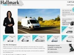 http://www.hallmarkvanandtruckhire.co.uk/ website