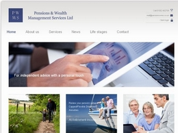 http://www.pensionswms.co.uk website