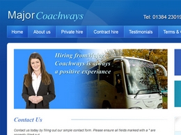 http://www.majorcoachways.com/ website