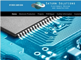 https://www.saturnsolutions.co.uk/ website