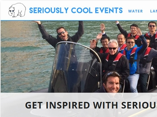 https://www.seriouslycoolevents.com/team-building/ website