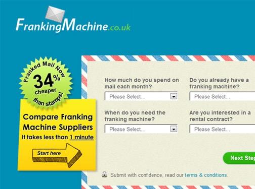 http://www.frankingmachine.co.uk website