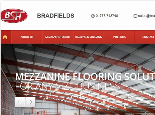 https://www.bradfield-storage.co.uk/ website