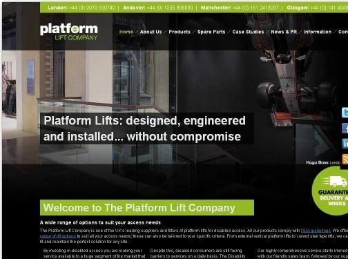 https://platformliftco.co.uk/ website