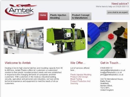 https://www.amtekplastics.co.uk website