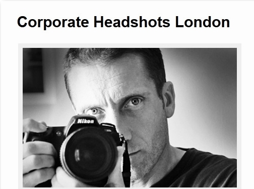 http://www.corporateheadshotslondon.com website