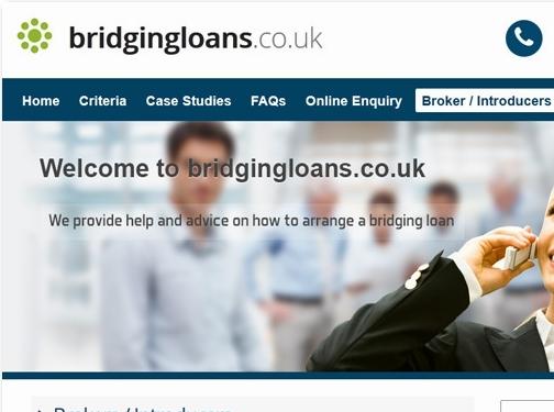 http://www.bridgingloans.co.uk/ website