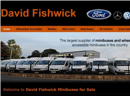 https://www.davidfishwickminibussales.co.uk/ website