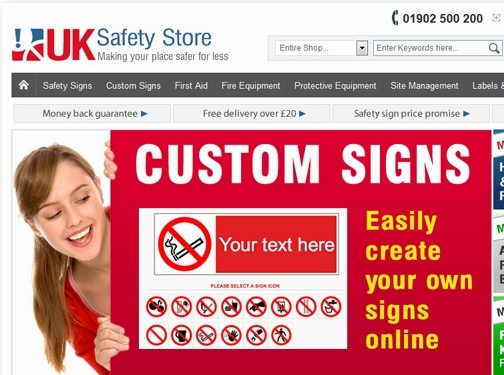 https://www.uksafetystore.com website