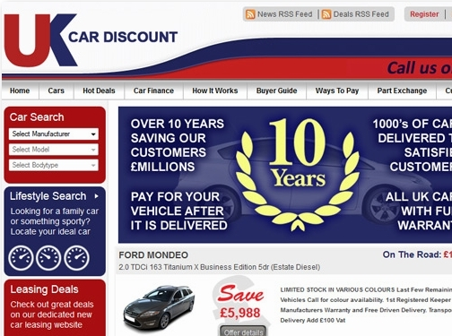 https://www.uk-car-discount.co.uk website
