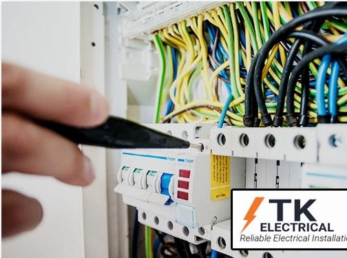 https://www.tkelectricalcontractors.co.uk/ website