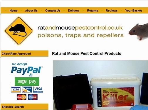 https://www.ratandmousepestcontrol.co.uk/ website