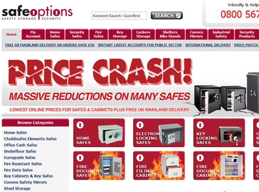 https://www.safeoptions.co.uk website