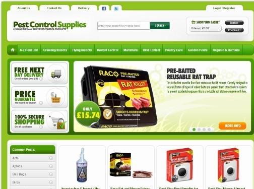 https://www.pestcontrolsupplies.co.uk/ website