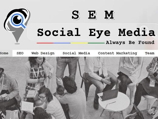 https://www.socialeyemedia.com/ website