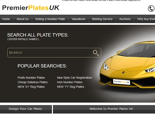 https://www.premier-plates.com/ website