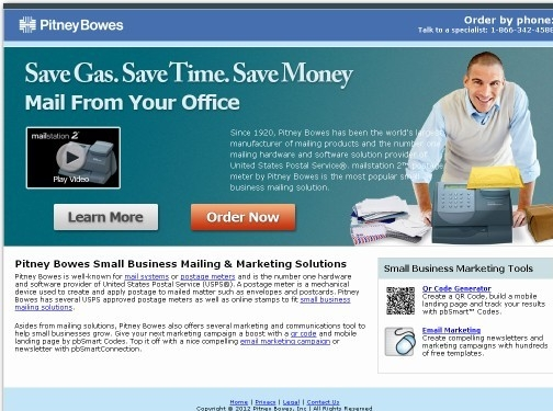 https://www.pitneybowes.com/us/shipping-and-mailing/postage-meters.html website