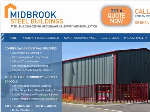 https://www.midbrooksteelbuildings.co.uk/ website