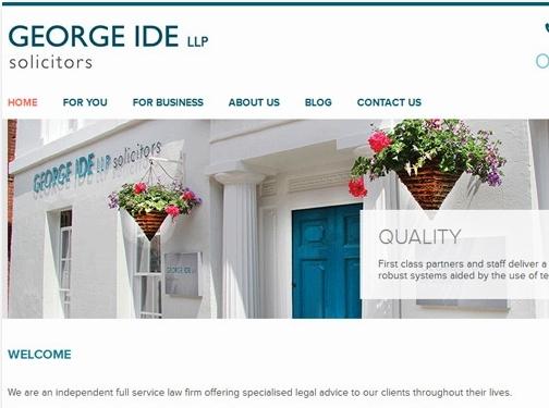 http://www.georgeide.co.uk/ website